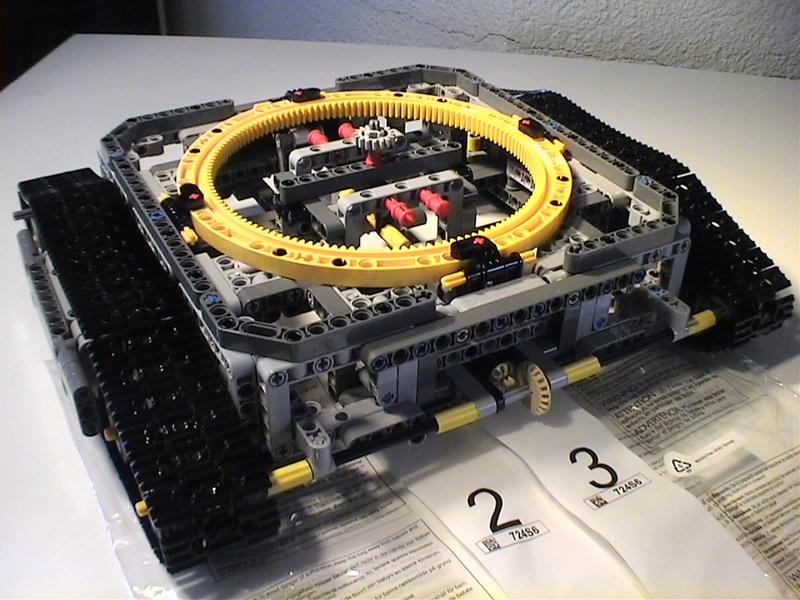 Der Schaufelradbagger von LEGO-Technik gebaut von Alo  Dvc04420