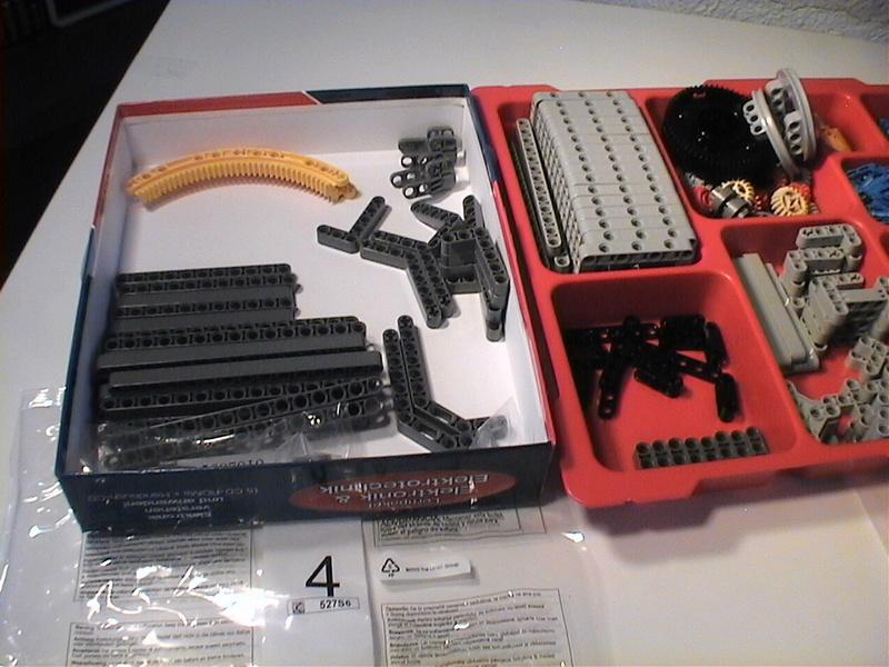 Der Schaufelradbagger von LEGO-Technik gebaut von Alo  Dvc04421