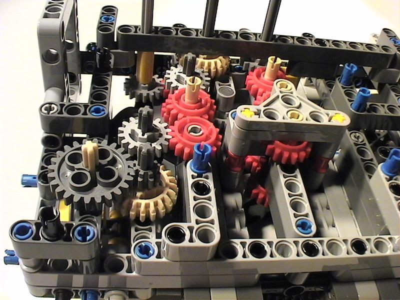 Der Schaufelradbagger von LEGO-Technik gebaut von Alo  Dvc04510