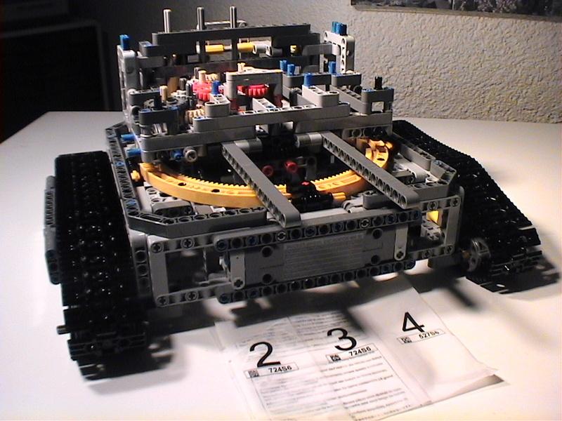Der Schaufelradbagger von LEGO-Technik gebaut von Alo  Dvc04512