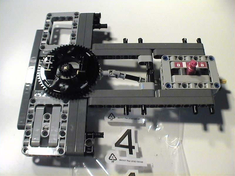 Der Schaufelradbagger von LEGO-Technik gebaut von Alo  Dvc04514
