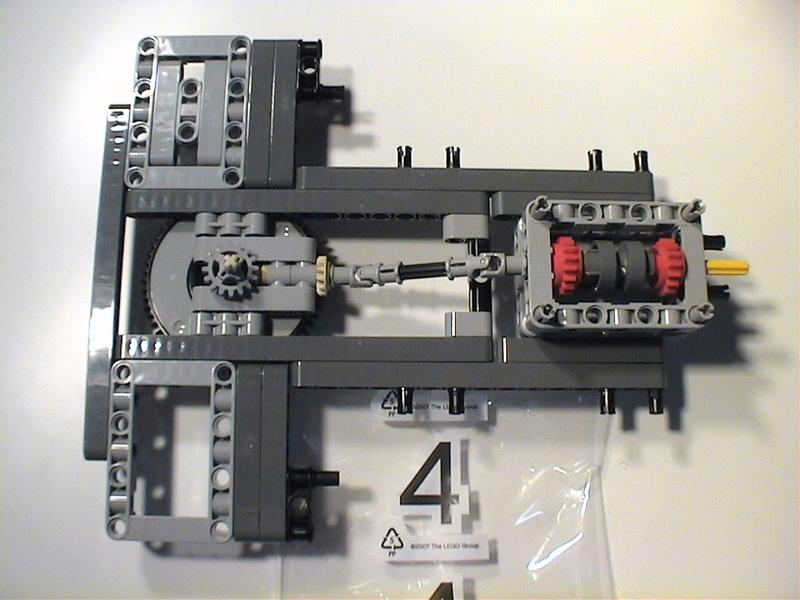 Der Schaufelradbagger von LEGO-Technik gebaut von Alo  Dvc04515