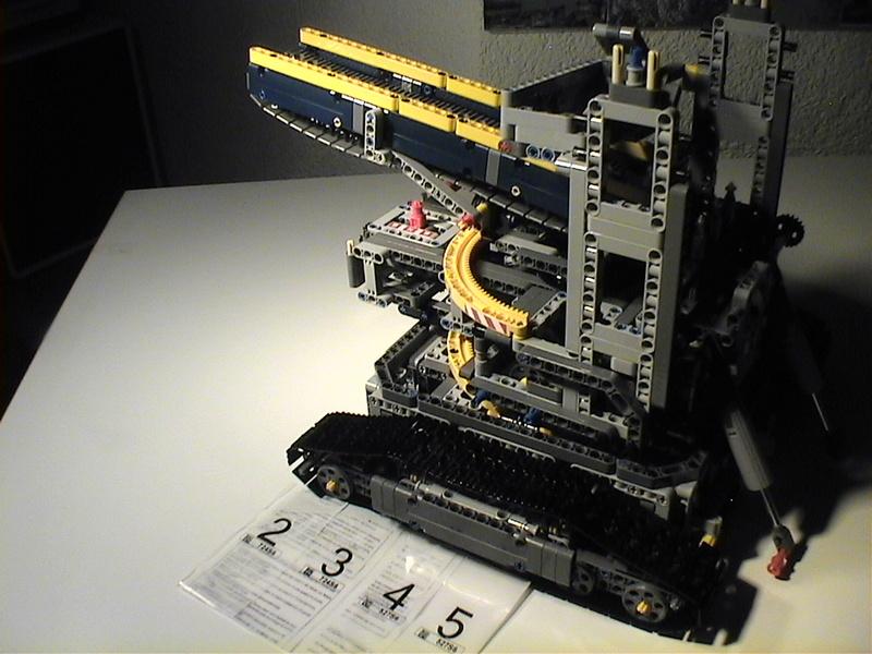 Der Schaufelradbagger von LEGO-Technik gebaut von Alo  Dvc04519