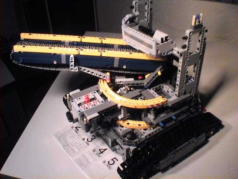 Der Schaufelradbagger von LEGO-Technik gebaut von Alo  Dvc04521