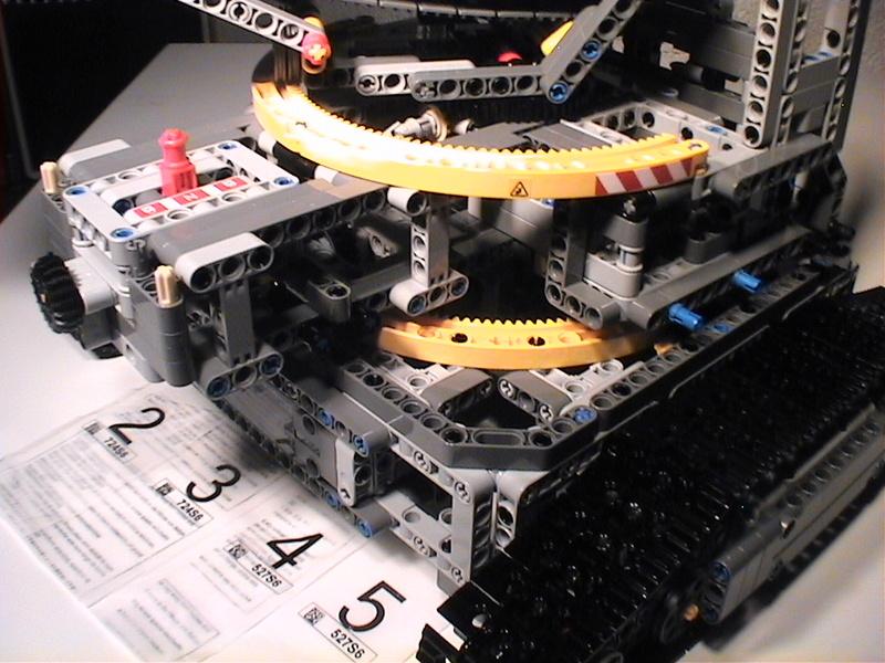 Der Schaufelradbagger von LEGO-Technik gebaut von Alo  Dvc04522