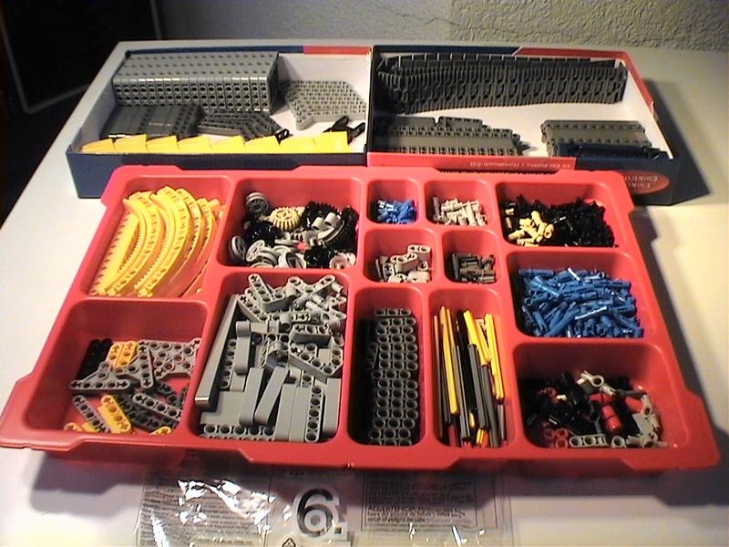 Der Schaufelradbagger von LEGO-Technik gebaut von Alo  Dvc04523