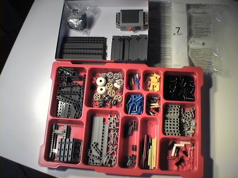 Der Schaufelradbagger von LEGO-Technik gebaut von Alo  Dvc04527