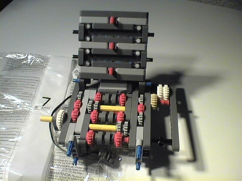 Der Schaufelradbagger von LEGO-Technik gebaut von Alo  Dvc04528