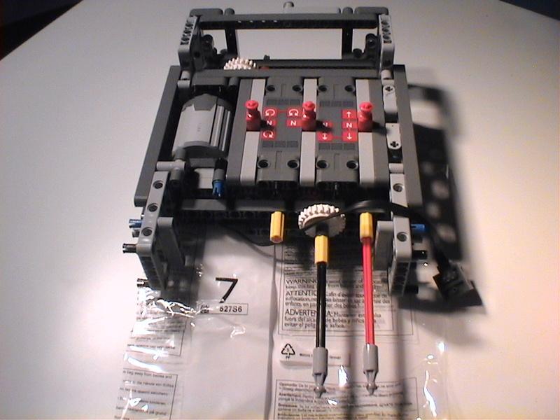 Der Schaufelradbagger von LEGO-Technik gebaut von Alo  Dvc04529