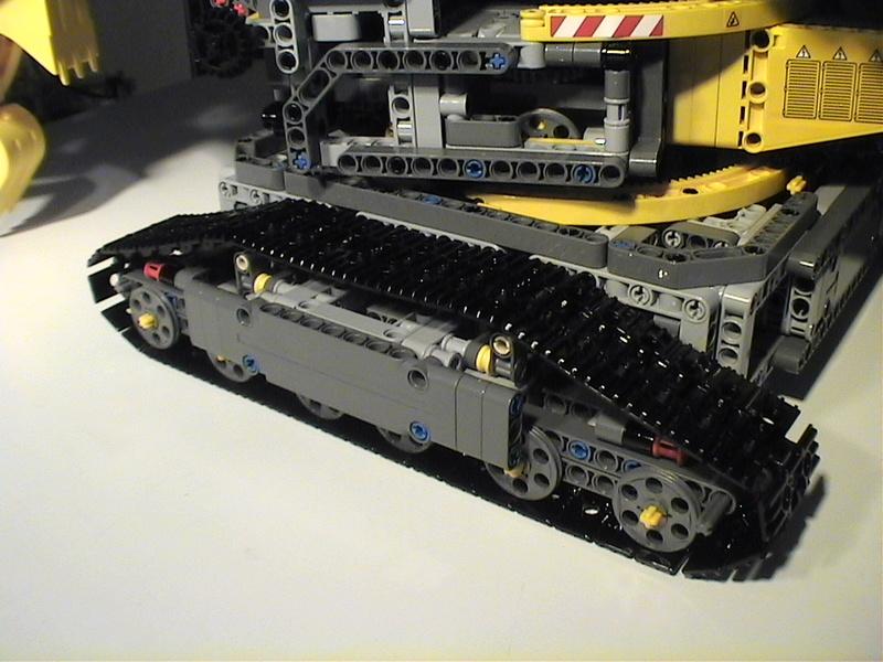 Der Schaufelradbagger von LEGO-Technik gebaut von Alo  Dvc04540