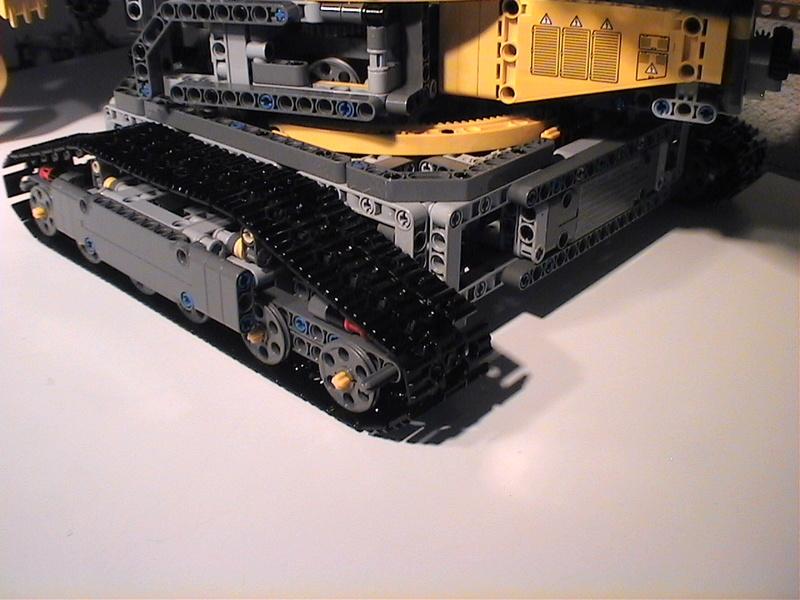 Der Schaufelradbagger von LEGO-Technik gebaut von Alo  Dvc04541
