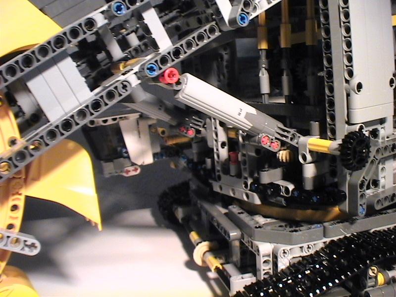 Der Schaufelradbagger von LEGO-Technik gebaut von Alo  Dvc04543