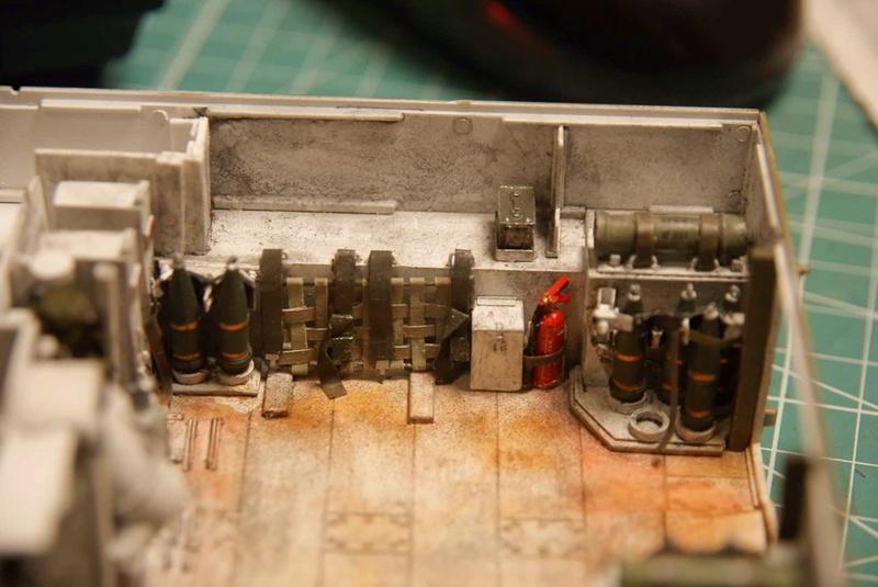 M109 G der Bundeswehr Mitte der 80er   1/35 Tamiya, Blackdog, MR Models, Eduard Interi13