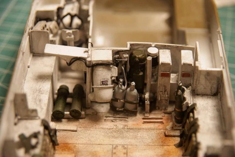M109 G der Bundeswehr Mitte der 80er   1/35 Tamiya, Blackdog, MR Models, Eduard Interi14