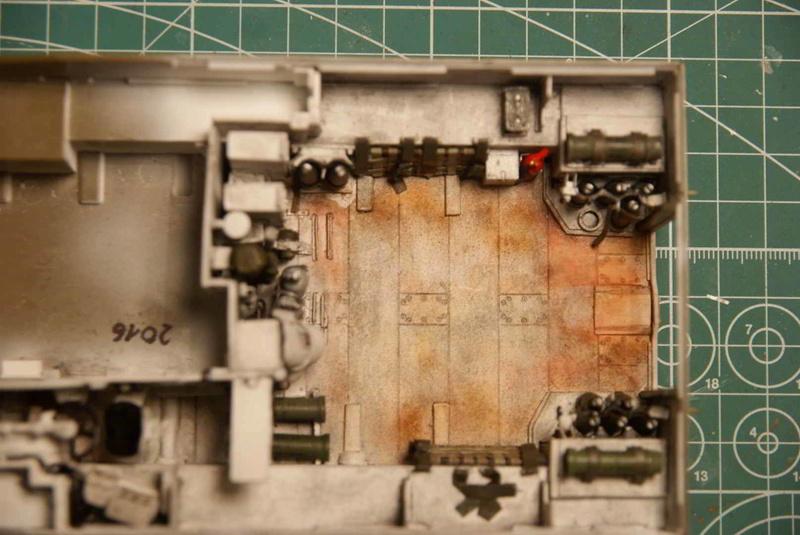 M109 G der Bundeswehr Mitte der 80er   1/35 Tamiya, Blackdog, MR Models, Eduard Interi15