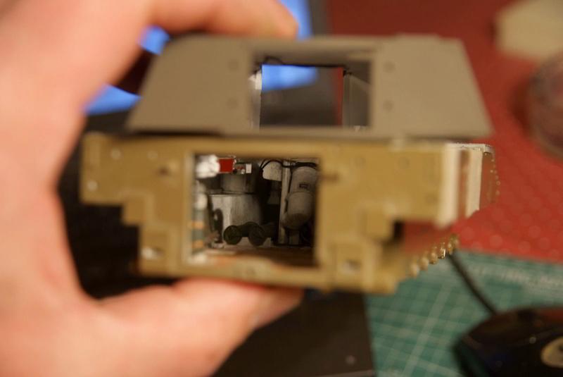 M109 G der Bundeswehr Mitte der 80er   1/35 Tamiya, Blackdog, MR Models, Eduard M109_g10