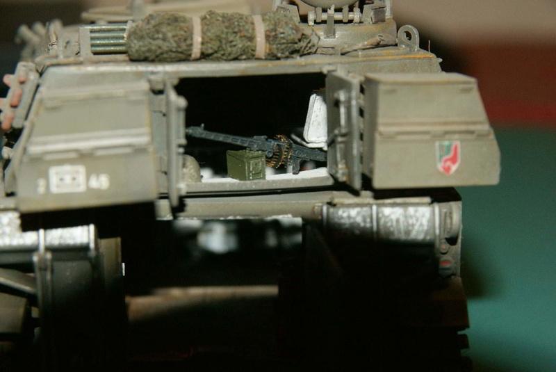 M109 G der Bundeswehr Mitte der 80er   1/35 Tamiya, Blackdog, MR Models, Eduard Modell10