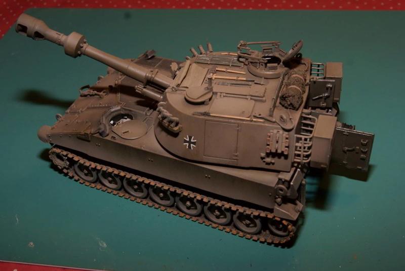 M109 G der Bundeswehr Mitte der 80er   1/35 Tamiya, Blackdog, MR Models, Eduard Modell13