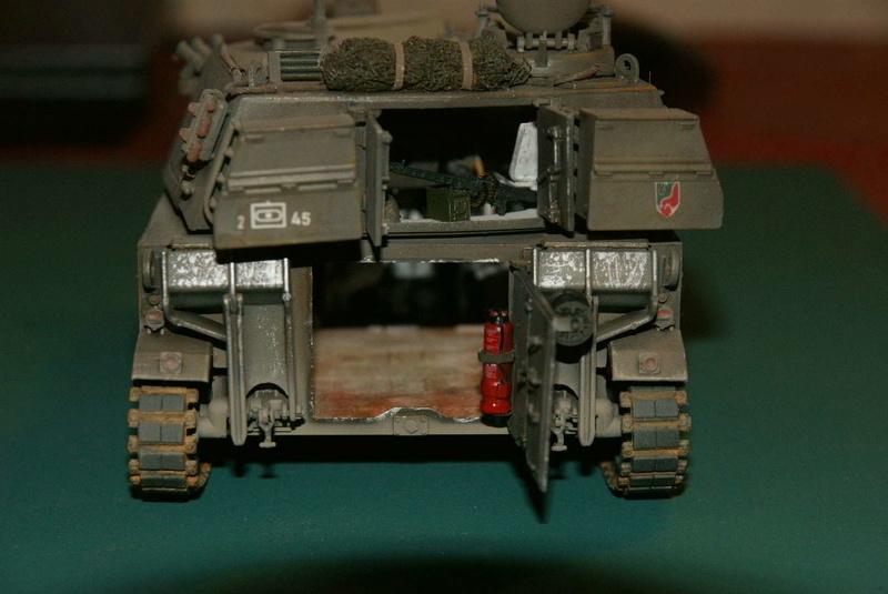 M109 G der Bundeswehr Mitte der 80er   1/35 Tamiya, Blackdog, MR Models, Eduard Modell14
