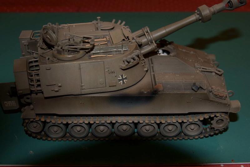 M109 G der Bundeswehr Mitte der 80er   1/35 Tamiya, Blackdog, MR Models, Eduard Modell16