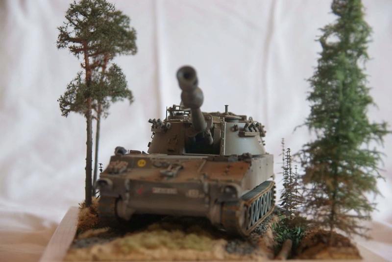 M109 G der Bundeswehr Mitte der 80er   1/35 Tamiya, Blackdog, MR Models, Eduard Modell17