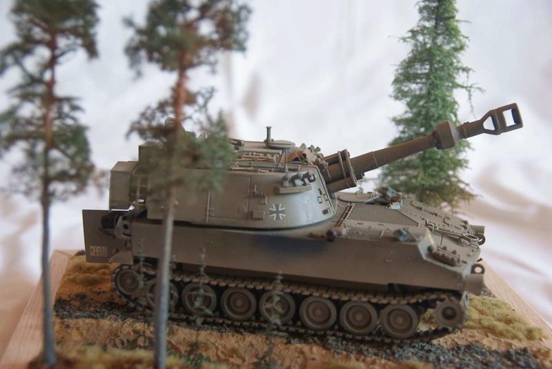 M109 G der Bundeswehr Mitte der 80er   1/35 Tamiya, Blackdog, MR Models, Eduard Modell18
