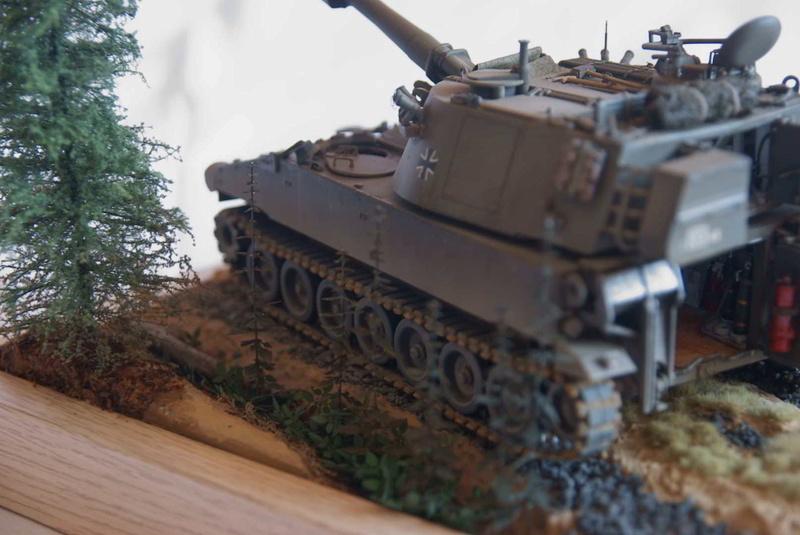 M109 G der Bundeswehr Mitte der 80er   1/35 Tamiya, Blackdog, MR Models, Eduard Modell19