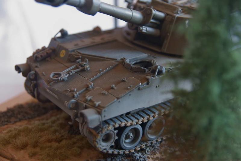 M109 G der Bundeswehr Mitte der 80er   1/35 Tamiya, Blackdog, MR Models, Eduard Modell21