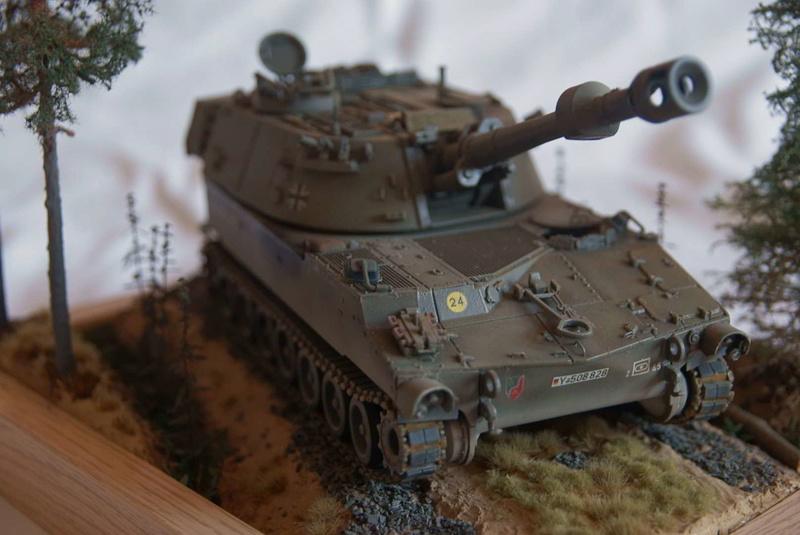 M109 G der Bundeswehr Mitte der 80er   1/35 Tamiya, Blackdog, MR Models, Eduard Modell23