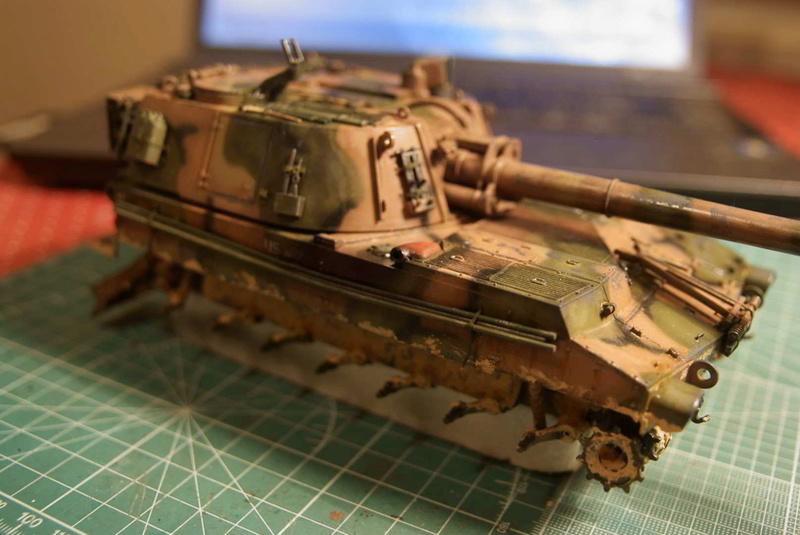 M109 G der Bundeswehr Mitte der 80er   1/35 Tamiya, Blackdog, MR Models, Eduard Ybungs10