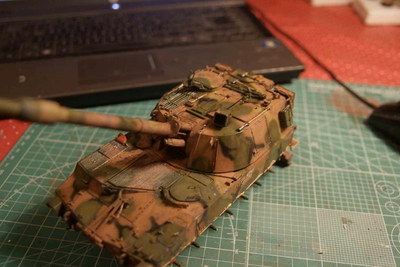 M109 G der Bundeswehr Mitte der 80er   1/35 Tamiya, Blackdog, MR Models, Eduard Ybungs11