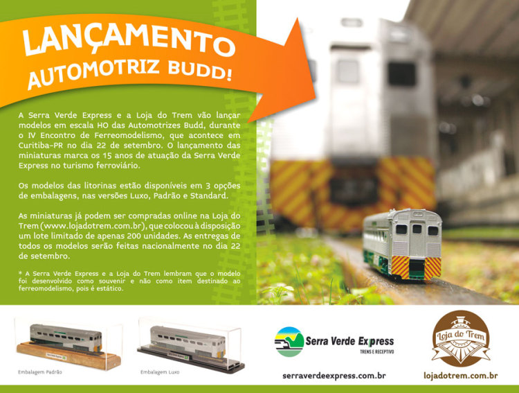 4º Encontro de Ferreomodelismo Serra Verde Express e Passatempo Hobbies e Modelismo Anncio10