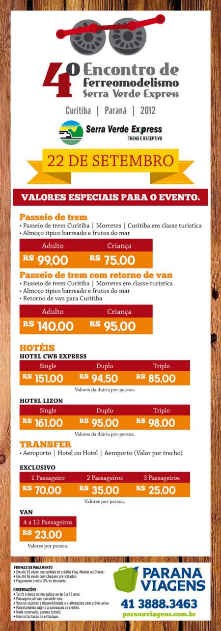 4º Encontro de Ferreomodelismo Serra Verde Express e Passatempo Hobbies e Modelismo Emailp10