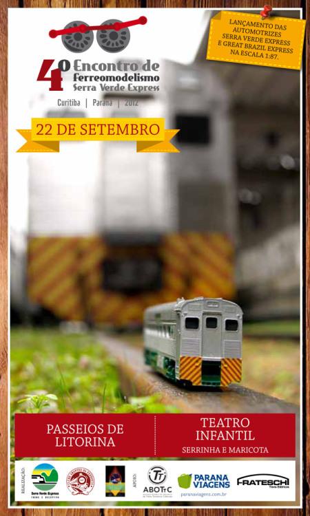 4º Encontro de Ferreomodelismo Serra Verde Express e Passatempo Hobbies e Modelismo Newsle10