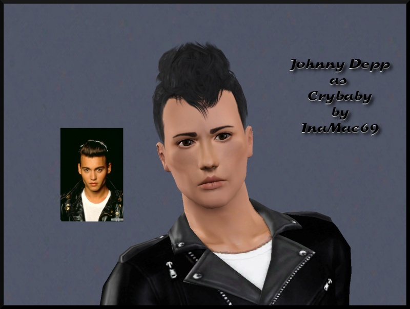 Johnny Depp as Cry Baby Johnny12