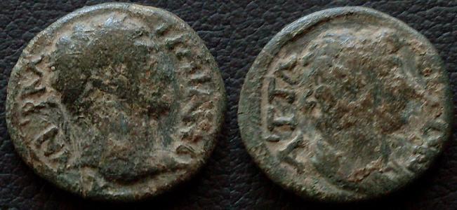 Attaleia :bronze de Trajan Provin11