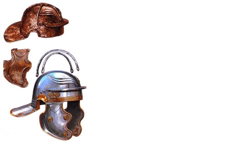 Galea avec barres de renforts Imperi14