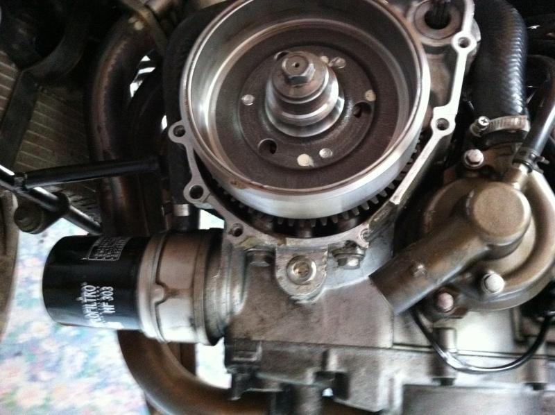 Ma 1ère Moto Piste. Zx6R-99 EN mode préparation Photo_14