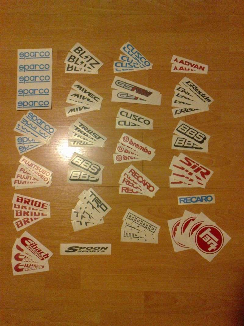 Assorted Stickers For Sale *Updated* 04/10/12 New Designs 6 for €10 posted. Photo024