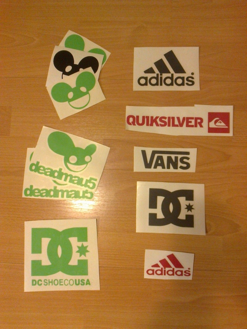 Assorted Stickers For Sale *Updated* 04/10/12 New Designs 6 for €10 posted. Photo026
