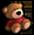 Brebis /Mouton Valentin/Mouton Vert/Mouton d'Halloween/Mouton de Noël/Mouton d'Hiver/Mouton Printanier/Mouton Fêtard/Brebis Rouge => Laine Teddyb10