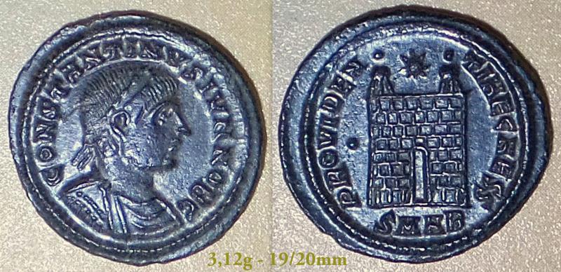 Les Constantins Ier et Constantins II de Rayban35 Charge22