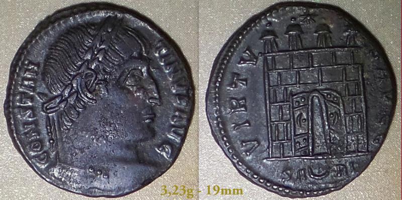 Les Constantins Ier et Constantins II de Rayban35 Charge47