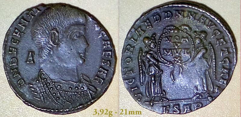 Les Constances II, ses Césars et ces opposants par Rayban35 - Page 6 Charge62