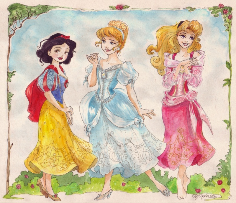 Les Disney Princesses (+ Elsa et Anna) [Topic Unique] - Page 4 Classi10