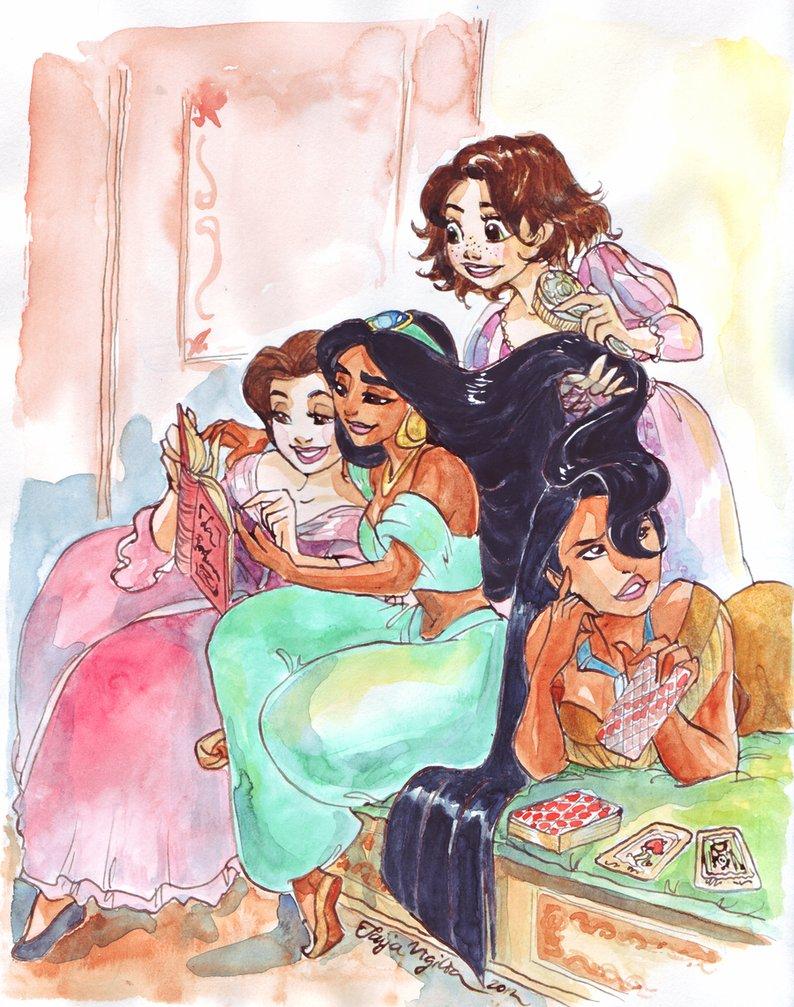 Les Disney Princesses (+ Elsa et Anna) [Topic Unique] - Page 4 Fortun11