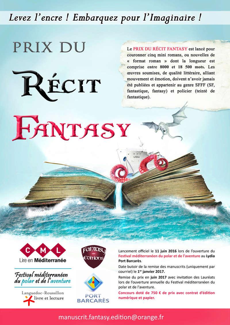 Le Prix du récit fantasy au festival Mediterranééen du polar et de l'aventure Salon_10