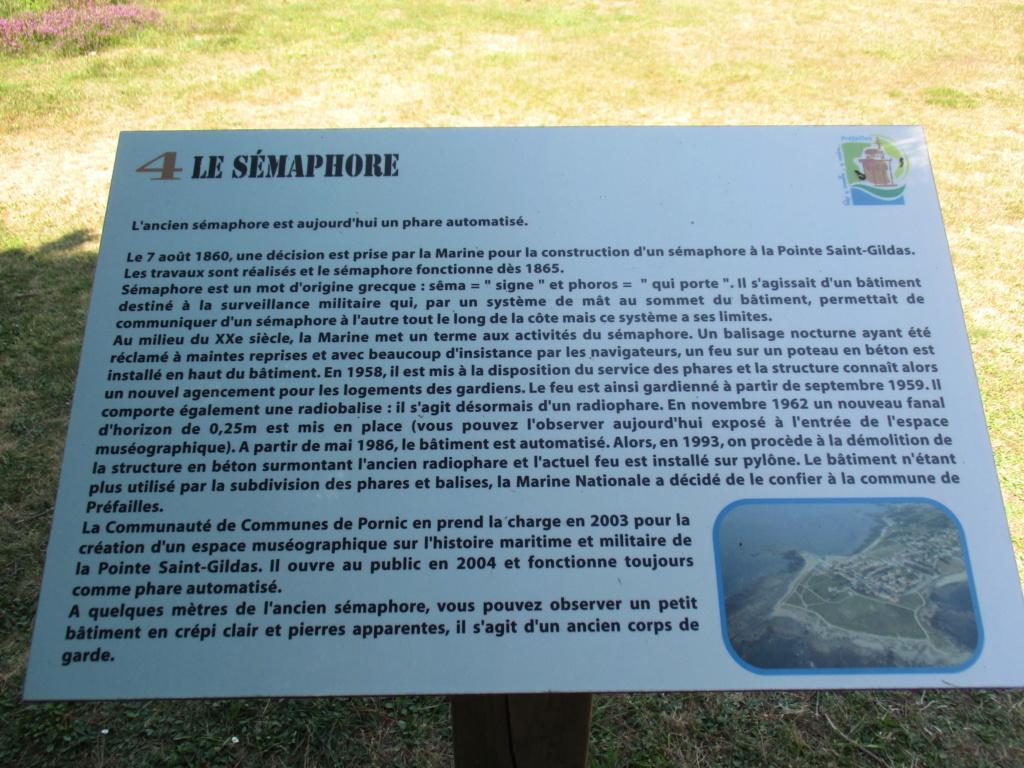 [ Les sémaphores - divers ] Sémaphore de la Pointe Saint Gildas (44) 02410