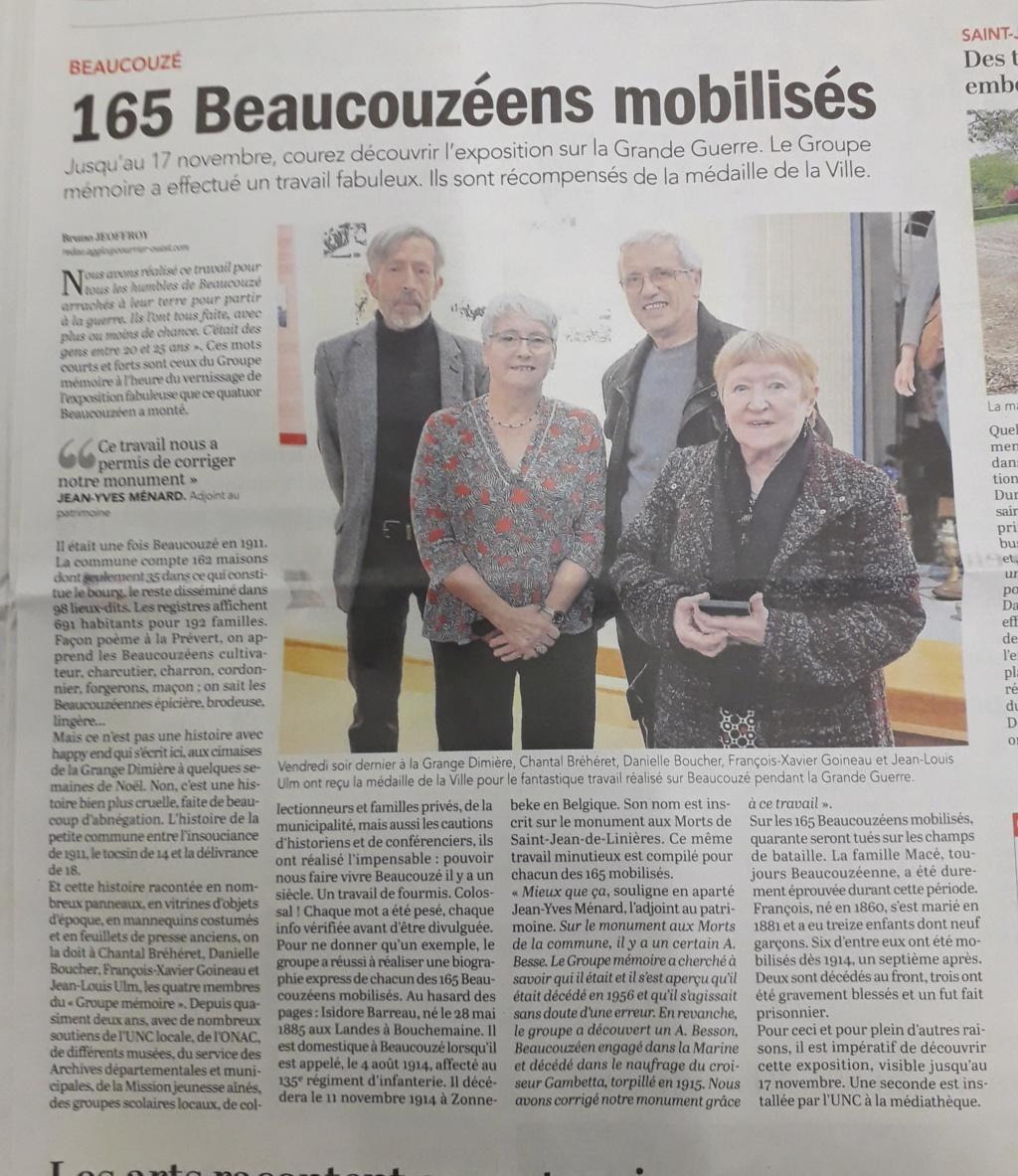[ Histoires et histoire ] LE CENTENAIRE DE LA GRANDE GUERRE - Page 18 02917
