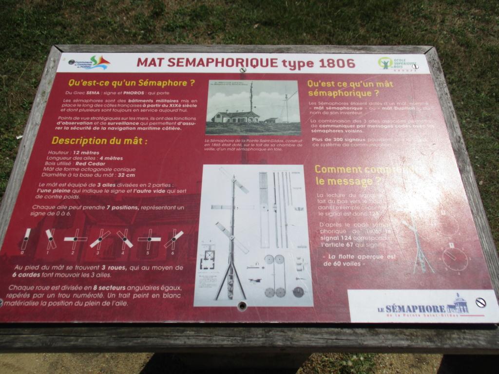 [ Les sémaphores - divers ] Sémaphore de la Pointe Saint Gildas (44) 03015